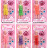 CARDED DOLL & ACCESSORY SET 6 ASSORTED